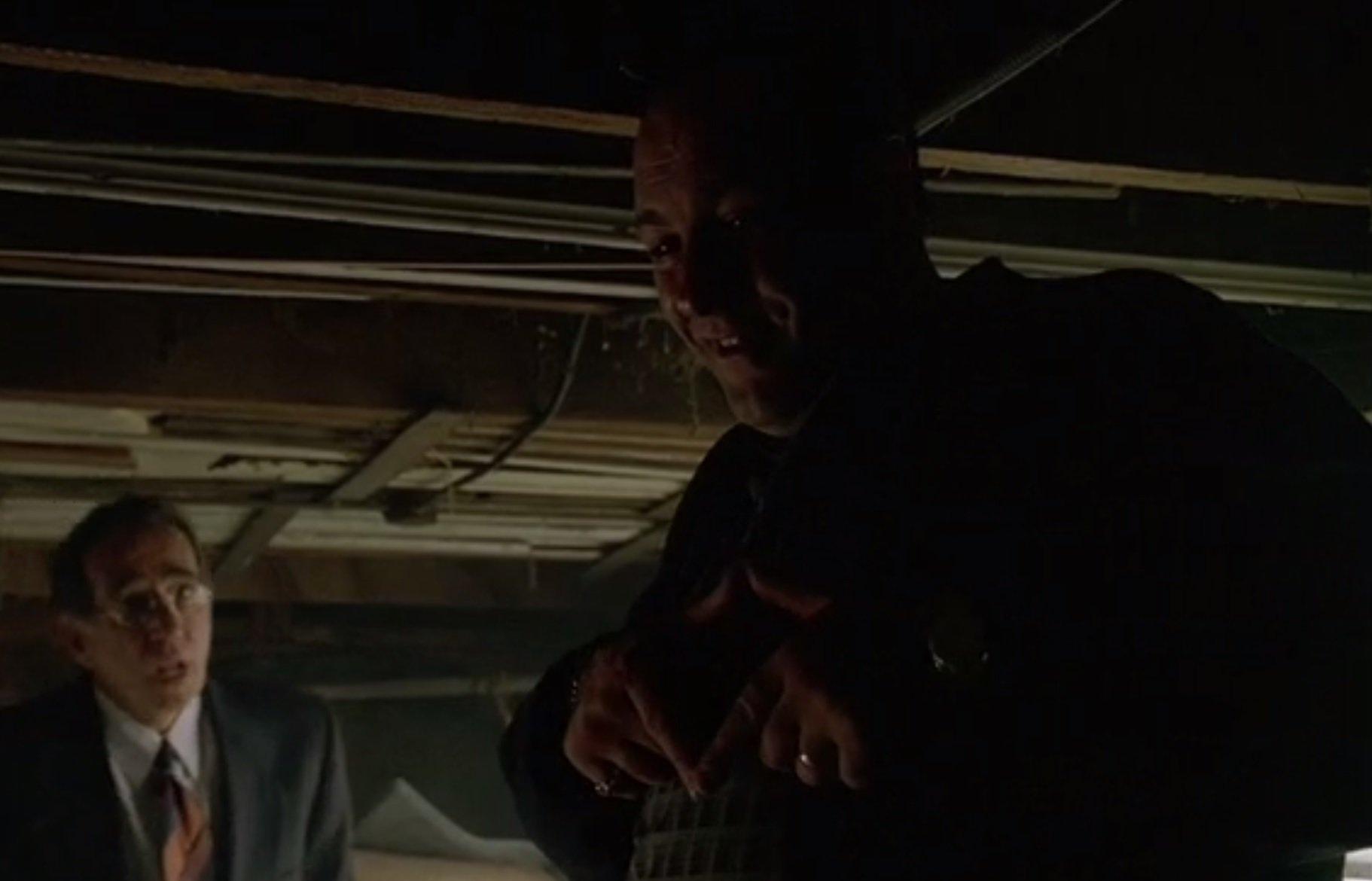 Sopranos FBI scene
