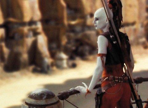 Aurra Sing in Episode One